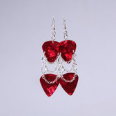 Rockstar l Red Earrings