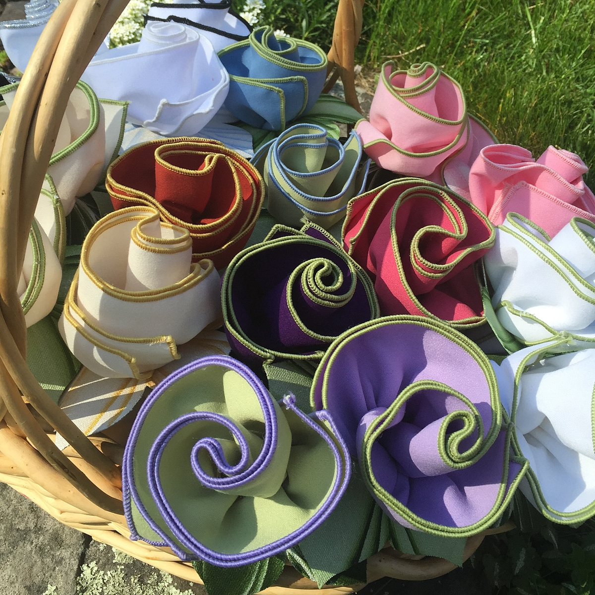 Carole Shiber Hand-picked Napkin Bouquets