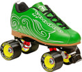 Labeda Voodoo U7 Green Quad Speed Skates
