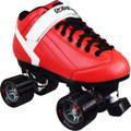 Roller Derby Stomp 5 Elite Red Quad Speed Skates