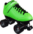 Roller Derby Stomp 5 Elite Green Quad Speed Skates