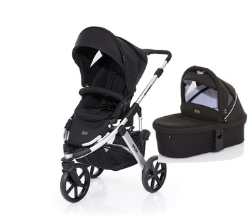 Salsa 3 Black with BONUS Carrycot