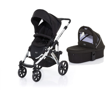Salsa 4 Black with BONUS Carrycot