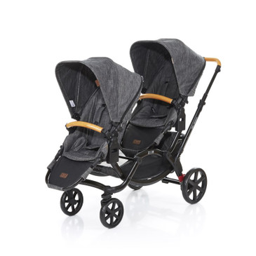 Zoom Twin Pram 2017 Wood