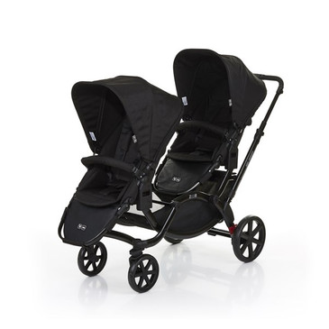 Zoom Twin Pram 2017 Coal
