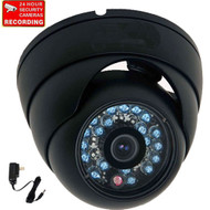 Security camera VD6HB with Power Supply and Warning Decal