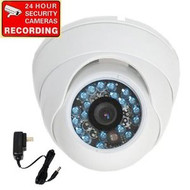 Security Camera VD6HW with Power Supply and Security Warning Decal