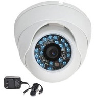 Infrared Security Camera VD21W with Power Supply