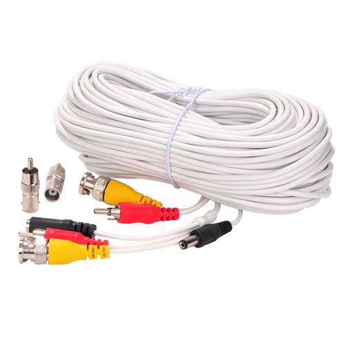 Surveillance Extension Wire Cord 100ft ACBV100W