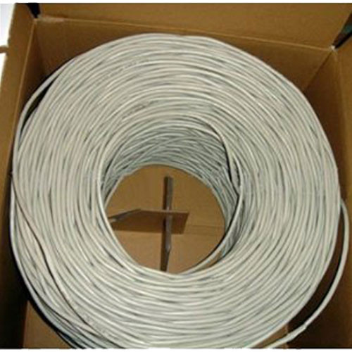 1000 Feet CAT 5E UTP Cable White PVC Jacket CBUT1W