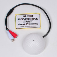 High Sensitive Pre-Amp Microphone for Security Camera and DVR Mic09
