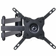 "VideoSecu TV Wall Mount Full Motion 15"" Extension Arm Articulating Tilt Swivel for Most 15"" 17"" 19"" 20"" 22"" 23"" 24"" 26"" 27"" 28"" 29"" 32"" 37"" 39"" LED TV Flat Panel Screen with VESA up to 200x200 ML14B WS2"