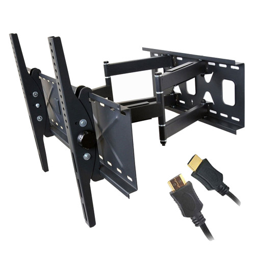 Articulating Plasma LCD LED TV wall mount MW360B