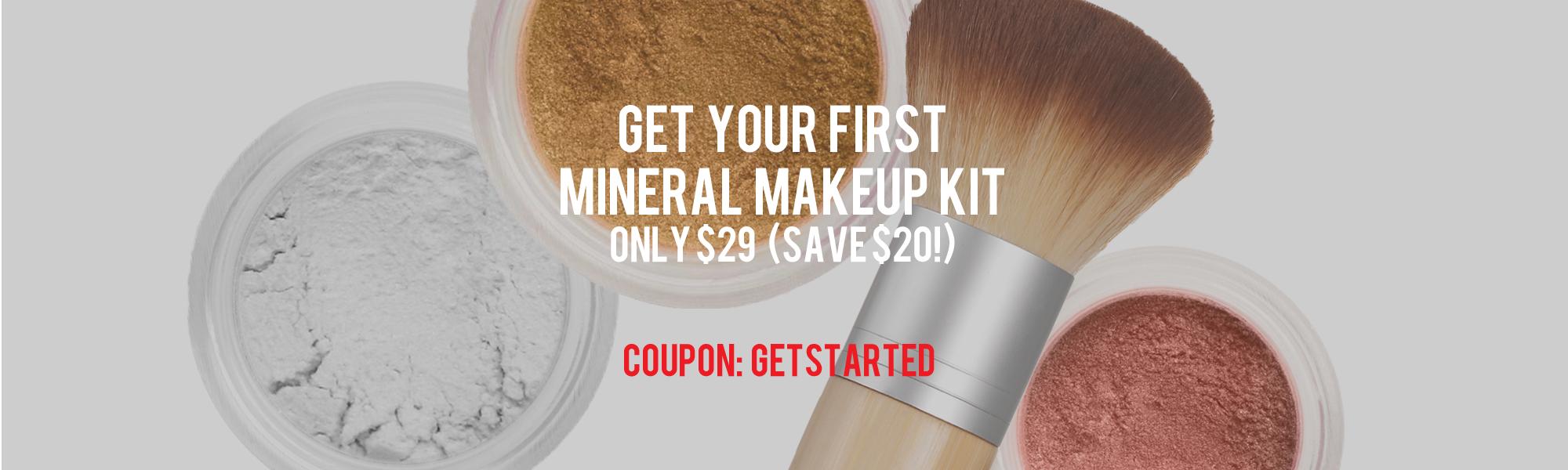 Sheer Miracle Mineral Makeup Starter Kit $29