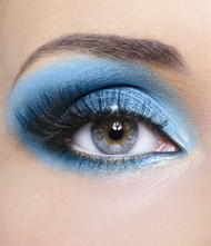 Island Blue Mineral Eye Shadow