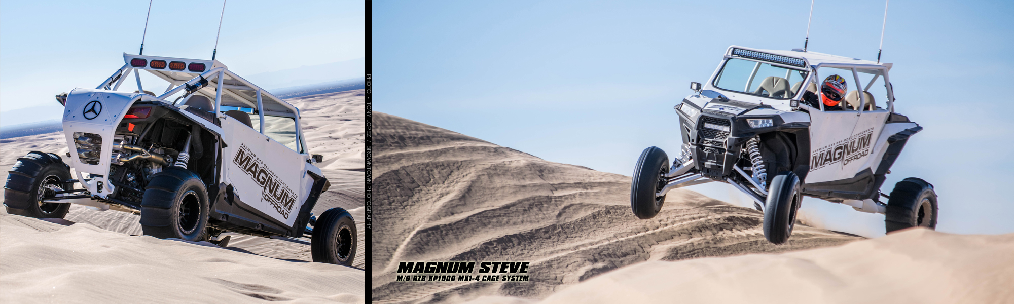 Magnum Offroad Polaris RZR XP 1000 MX1-4 Roll Cage System