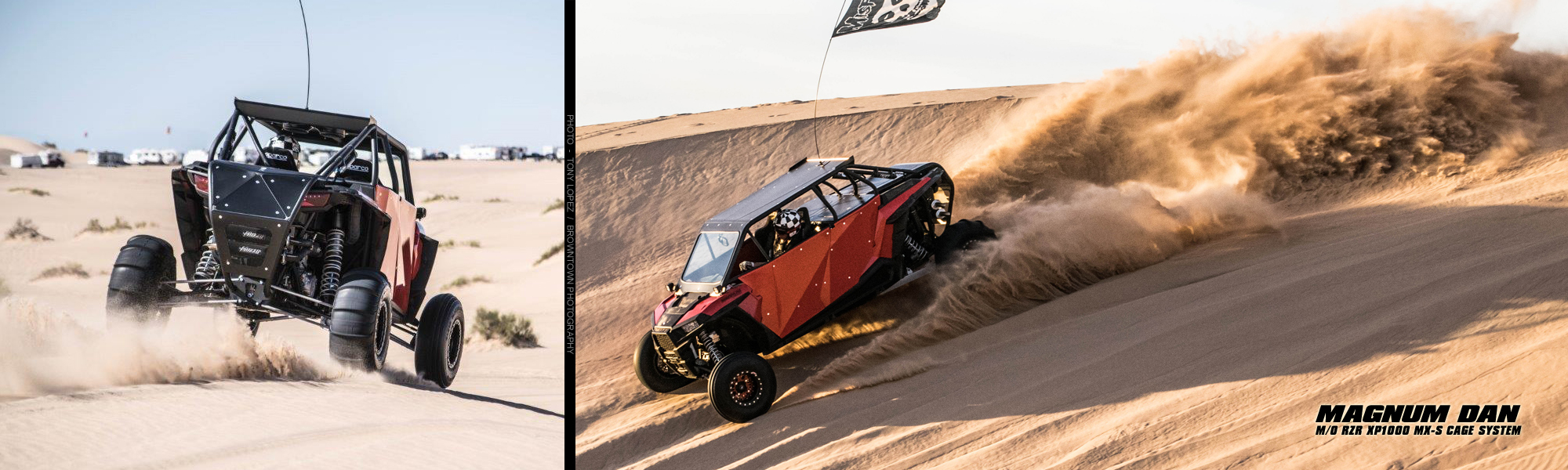 Magnum Offroad Polaris RZR XP 1000 MSX Roll Cage System