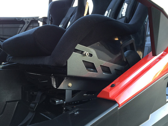Polaris RZR XP 1000 Turbo: Race Seat Base | Magnum Offroad
