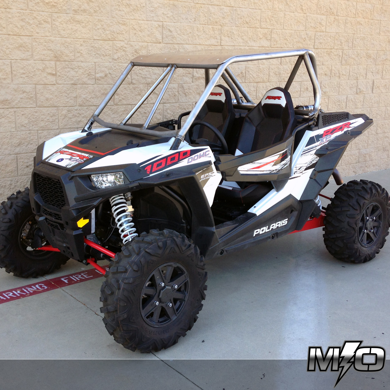 Home Category Cages Polaris RZR XP 1000: Feather Lite Roll Cage System