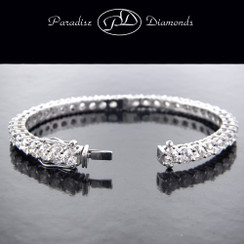 Style PDG600 - Round Diamond Lady's Bangle 16.55CT