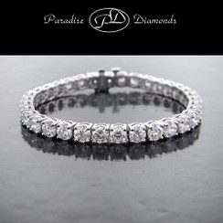 Round Diamond Tennis Bracelet - 17.75CT