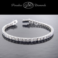 Round Diamond Tennis Bracelet - 9.26CT