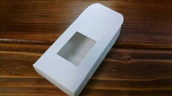 Buy White Soap Boxes With Rectangle Window Bulk Apothecary