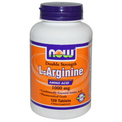 L-Glutamine 1000 mg - 120 Capsules | NOW Brand | Buy Today ...