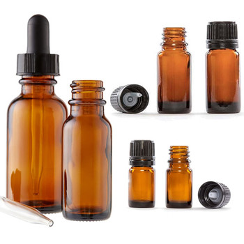 Glass Amber Bottles Essential Oil Bottle Supplier