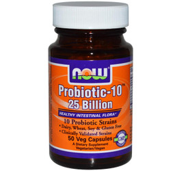 Probiotic-10 - 25 Billion - 50 Vcaps