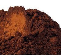 Matte Brown Oxide Pigment Powder
