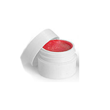 White Lip Balm Jars