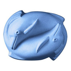 2 Dolphins Soap Mold