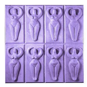 Buy Tray-Goddess Soap Molds