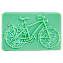 Bicycle Soap Mold