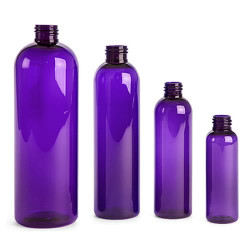 Buy Plastic Purple Bullet Bottles