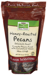 NOW Foods Honey-Roasted Pecans