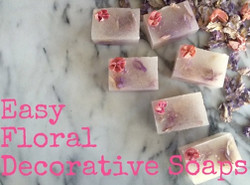 Floral Decorative Soap kit
