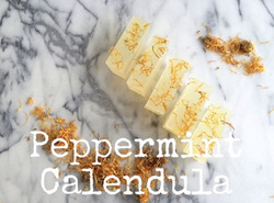 Peppermint Calendula Soap kit