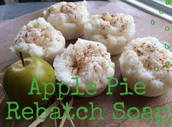 Apple Pie Rebatch Soap kit