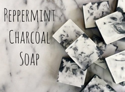 Peppermint Charcoal Soap kit