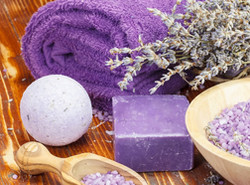Lavender Bath Bombs kit