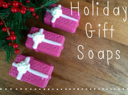Holiday Gift Soap Recipe Kit kit