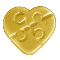 Autism Heart Soap Mold