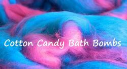 Cotton Candy Bath Bomb Making Kit