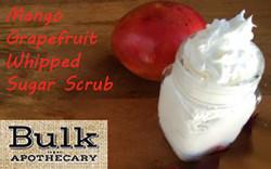 Mango Grapefruit Whipped Sugar Scrub Making Kit