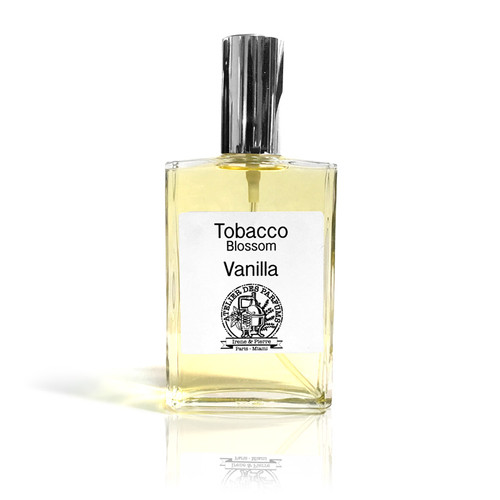 perfume Tobacco Blossom Vanilla Eau de Parfum 100ml made with essential oil therapia by aroma. Atelier des parfums.