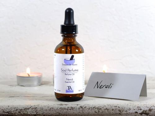 Neroli Perfume Oil - Anti-Stress & Aphrodisiac Aromatherapy
