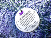 Lavender butter with lavender essential oil - anti-stress and relaxing - body care