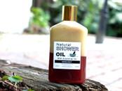 Bergamot essential oil shower oil